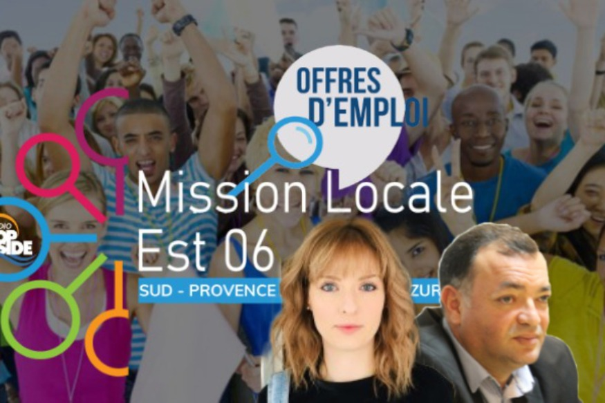 Ce soir à 18h30 La Mission locale est 06 en direct sur Radio Top Side.
