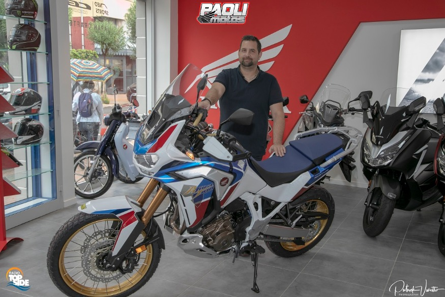 Honda Africa Twin Adventure Sports 2020 présentation !