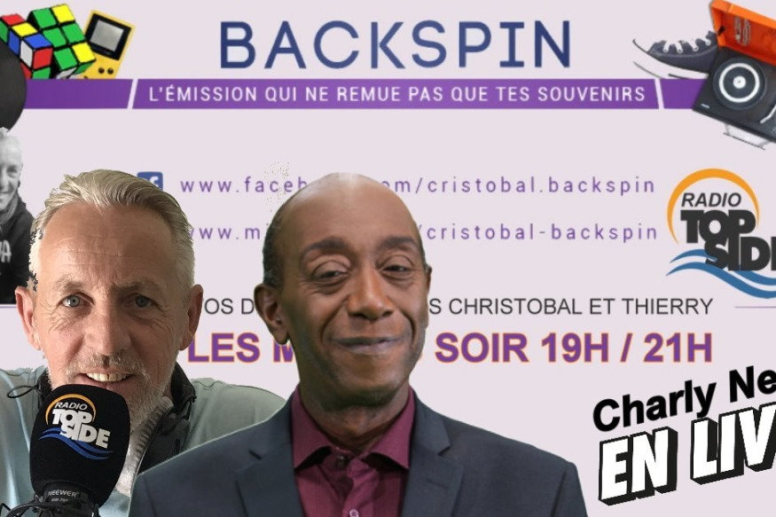 Charly Nestor ce soir en Direct dans l'émission Backspin